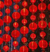 The lamps in the Chinese new year — Stock Photo