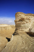 The dry dehydrated canyons in desert — Stock Photo