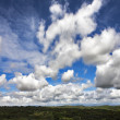 The freakish clouds — Stock Photo