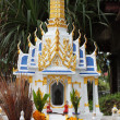 Mini Buddhist temple on the Koh Samui — Stock Photo