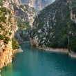 Well-known canyon Verdon - Photo