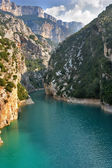 Well-known canyon Verdon — Stock Photo