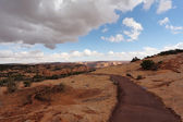 Thel canyon in the Navajo Reservation — Stock Photo