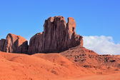The famous monolith of red sandstone - Camel. — Stock Photo
