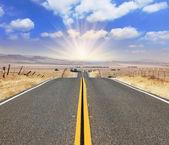 La magnífica carretera — Foto de Stock