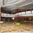 Superb issued lobby in prestigious Chinese hotel — Stock Photo