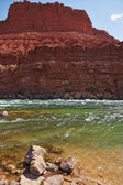 Cold green water of the Colorado River — Stock Photo