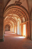 Inside the vaulted gallery — Stock Photo