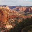 Stock Photo: Colossal red sandstone canyon