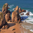 The cape Cabo da Roca  - the most western point of Europe — Stock Photo