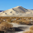 Stock Photo: Huge sand dune Eurekbefore sunrise
