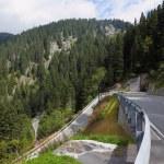 A winding mountain road — Stock Photo #24850329