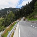 The dangerous mountain road — Stock Photo #24850363