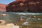 The red rocks of the desert — Stock Photo