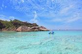 Exotic tropical Similan Islands — Stock Photo