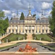 Royal  Palace of the 17th century La Granja Ildefonso - Stock Photo