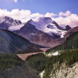 Majestic mountain landscape, glaciers and snow slopes — Stock Photo #25738837