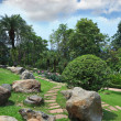 Masterpiece of landscape design - park in Thailand — Stock Photo