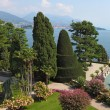 A masterpiece of landscape art on Isola Bella. — Stock Photo