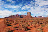 Navajo Reservation in the U.S. Red Desert — Stock Photo