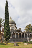 Basilica on Mount of Beatitudes — Foto Stock