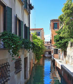Narrow street - the channel — Stock Photo