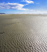 Sandy shallow on a beach — Stock Photo