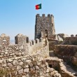 Fantastically moorish fortress in Portugal — Stock Photo