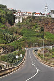 Cesta na ostrov madiera hor. — Stock fotografie