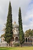 A majestosa cúpula e galeria com colunas — Foto Stock
