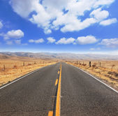 The magnificent equal highway — Stock Photo