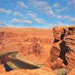 The Colorado River in the Horseshoe bend — Stock Photo