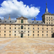 Enormous monument of Escorial in Spain — Stock Photo