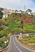 The highway on Madeira. — Stock Photo
