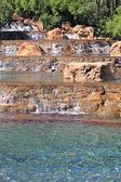 The stone fountain — Stock Photo