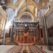 Facilities in the Holy Sepulchre. The daylight gets through a gl — Stockfoto