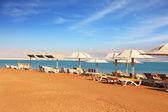 Beautiful sunny day at a beach resort — Stock Photo