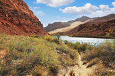 Quiet during the Colorado River — Stock Photo