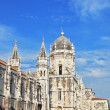 The Jeronimos monastery in Lisbon — Stock Photo
