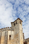 The imposing medieval castle — Stock Photo