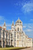 The Jeronimos monastery in Lisbon — Stock Photo