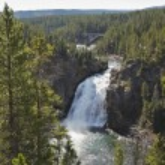 美しい滝 — ストック写真