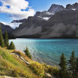Cold fine lake in Canada — Stock Photo
