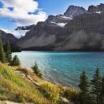 Cold fine lake in Canada — Stock Photo