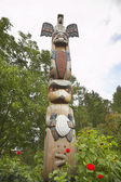 American Indian totem — Stock Photo