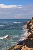 Stony coast of sea — Stock Photo