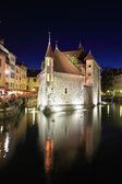 Noche de verano en la ciudad medieval — Foto de Stock