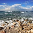 Stock Photo: Azure waves