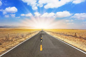 Ideal road — Stock Photo