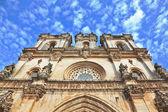 The facade of Roman Catholic convent — Stock Photo